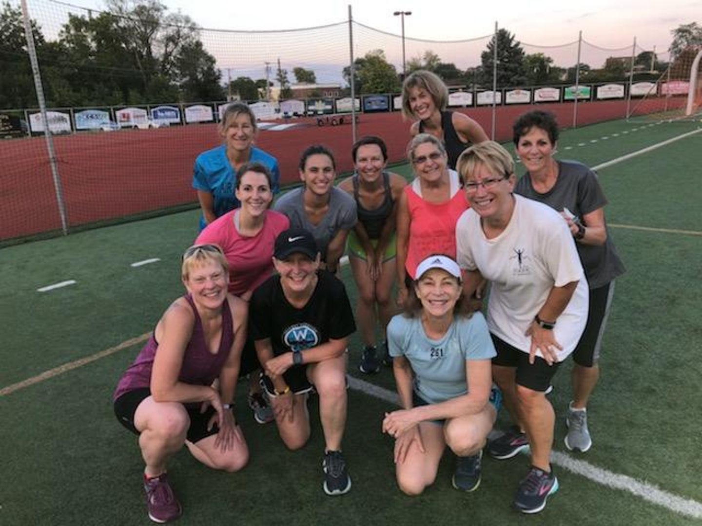Women at workout - team picture - 261 Fearless