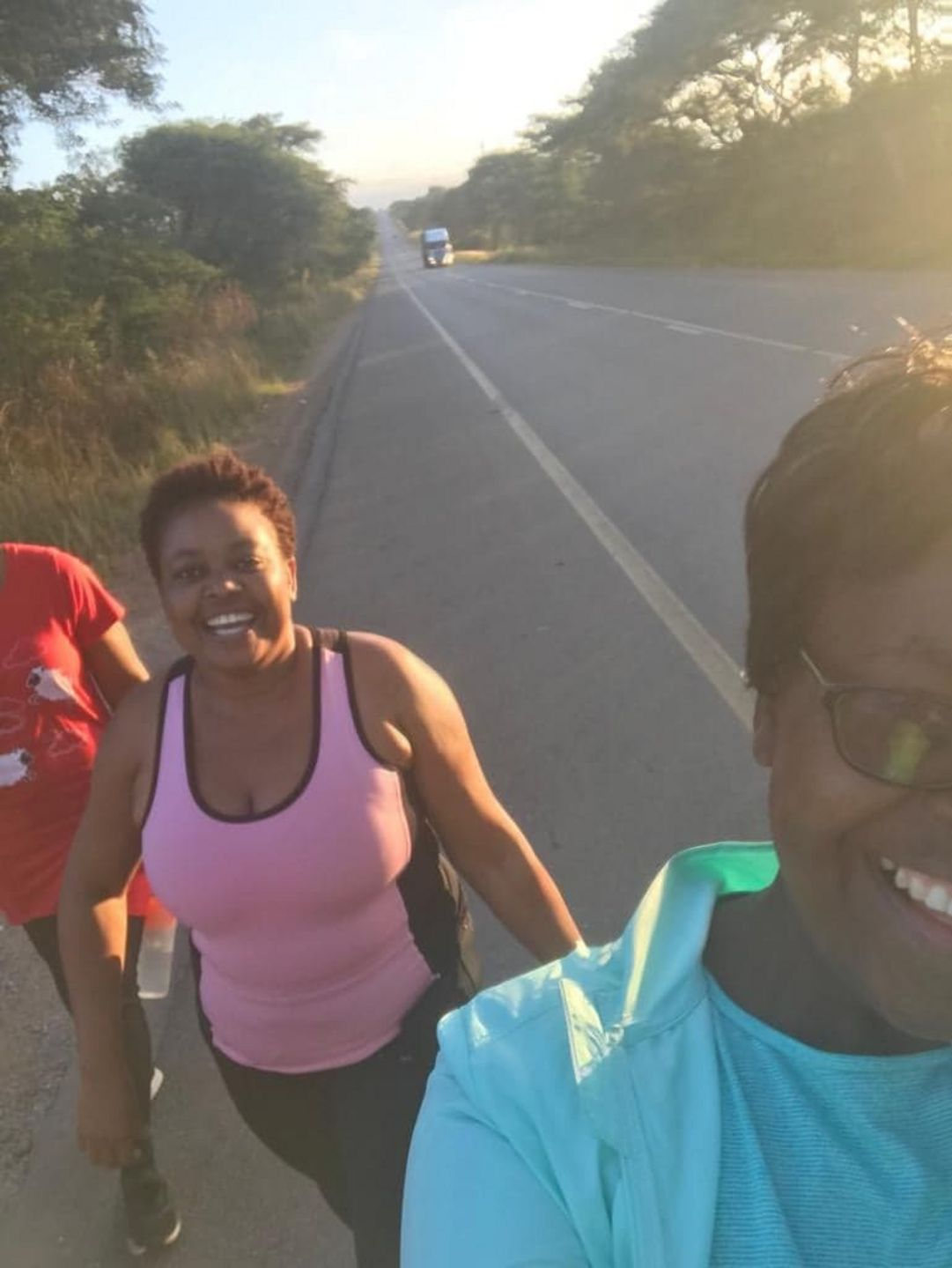 First meet run for the 261 Club Zambia - 261® Fearless