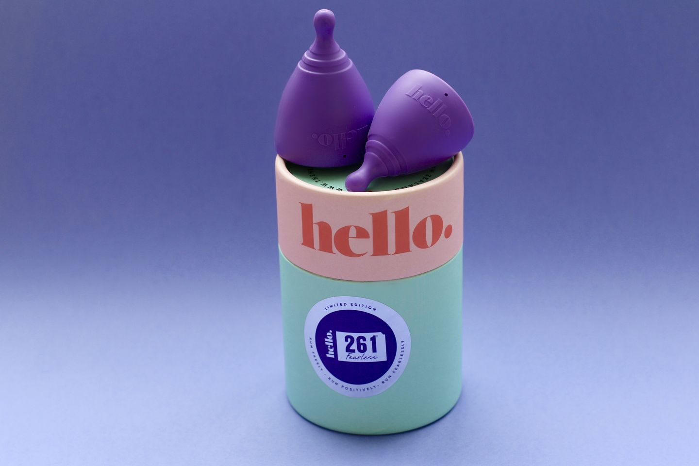 Hello cup - 261 Fearless colour