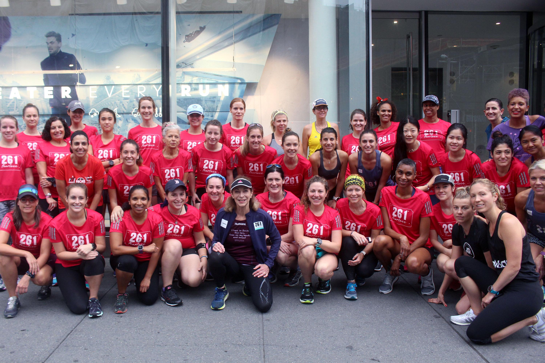 261 Fearless NYC Marathon Running Team