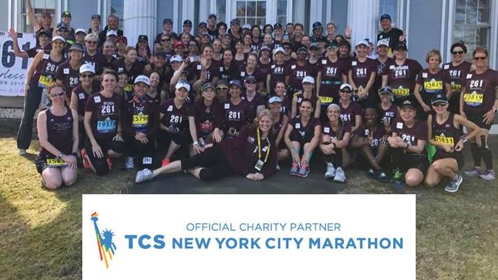 Teamfoto - TCS New York City Marathon