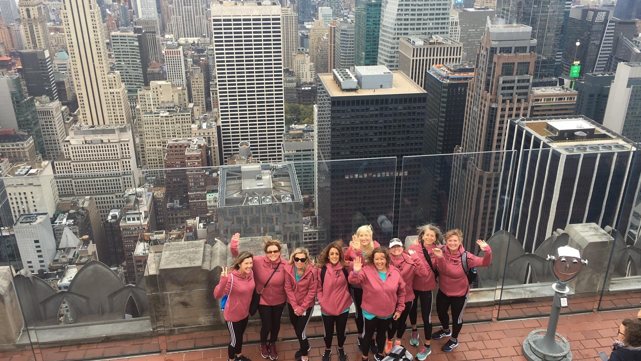 Charity Team NYC Marathon 261 Fearless
