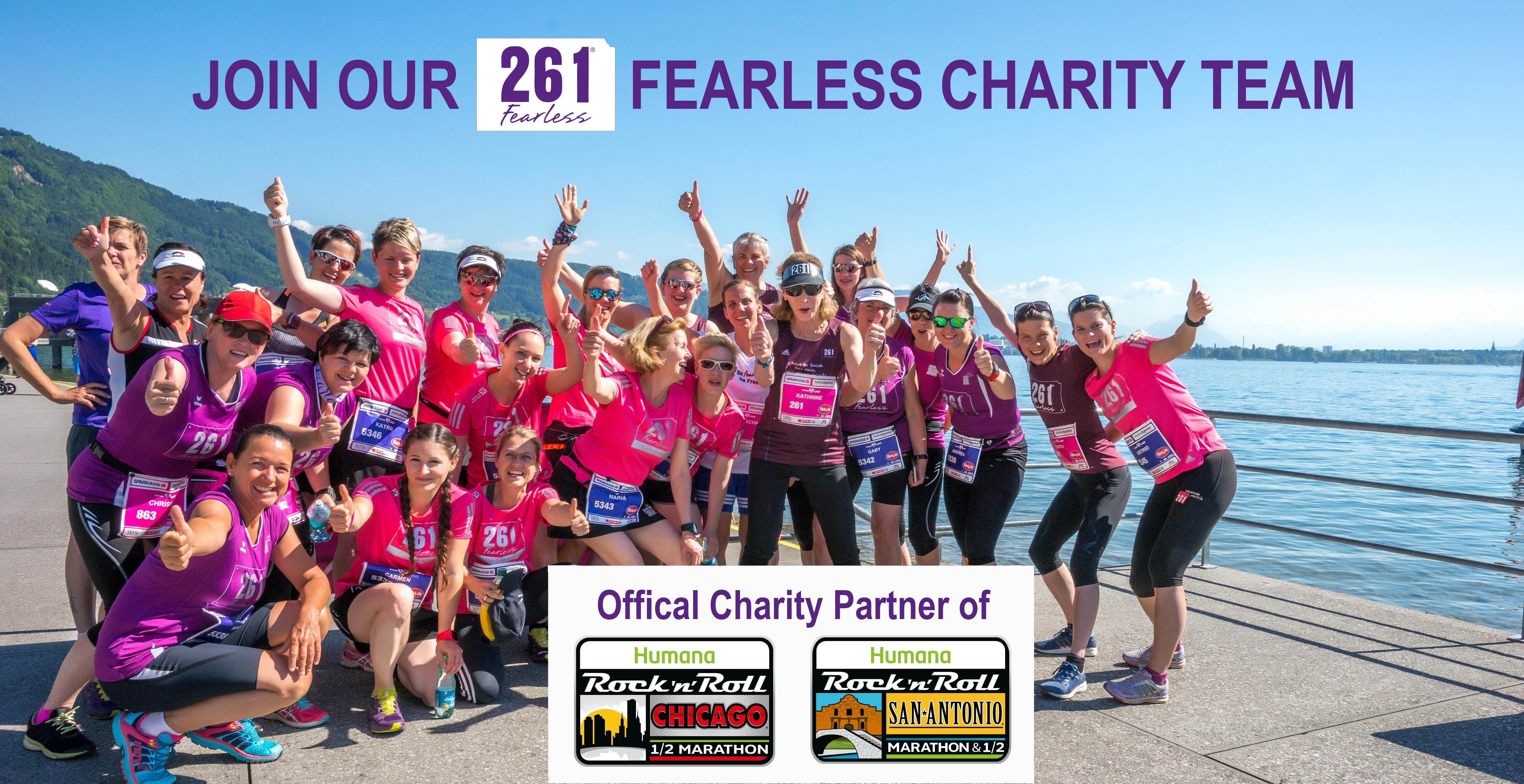 261 Fearless Charity San Antonio Marathon
