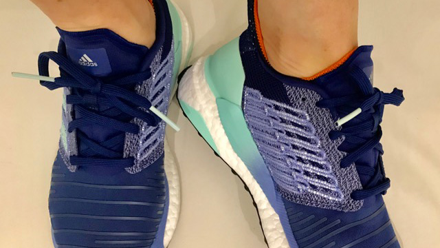 Testing adidas Solar Boost running shoes 261® Fearless